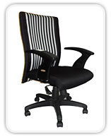 AIS 9002 MEDIUM BACK OFFICE CHAIR