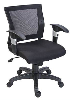 SAPHIRE LOW BACK OFFICE CHAIR