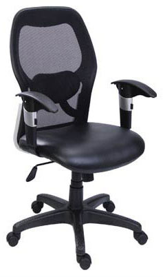 TOPBRASS MEDIUM BACK OFFICE CHAIR