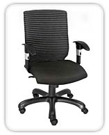 INFOTECH LOW BACK OFFICE CHAIR