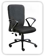 ZEBRA LOW BACK OFFICE CHAIR